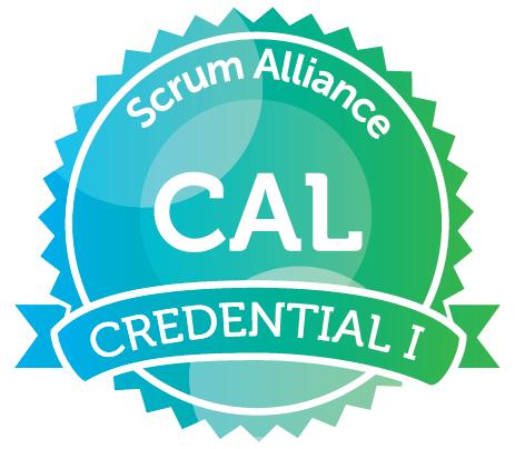 Scrum Alliance CAL Certified