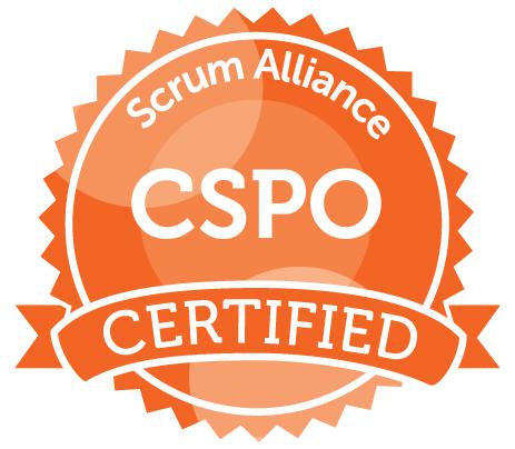 Scrum Alliance CSPO Certified